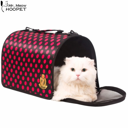 Outdoor Pet Carrier Cat Kitten Kennel Cab Airline Approved Traveling Shoulder Bag Comfort Tote Bag