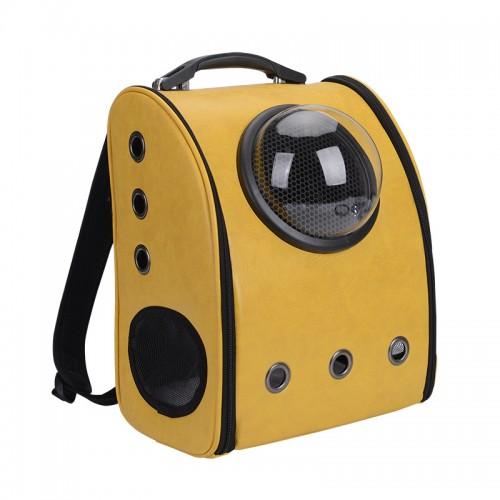 Pet Backpacks Large Space Portable Breathable Pet Carrier Bags U Pet Bag Kitten Outside