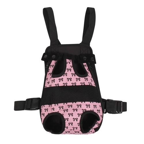 Pet Carrier Backpack Adjustable Pet Front Cat Carrier Backpack Travel Bag Legs Out Easy Fit