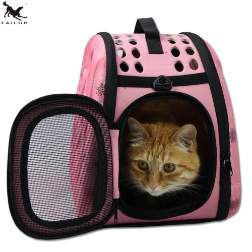 Pets Cat Carrier Bag Cat Cote Shoulder handle Carry Bag Small Breeds Backpack Bag