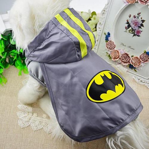 Superman Batman Novelty Cat Vest Cloak Spring and Summer Pet Clothes Vest Shirt