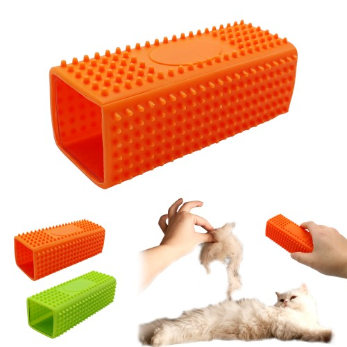Pet Cat Rubber Hair Fur Remover Comb Grooming Brush Cars Furniture Carpet Clothes Sofa Cleaner