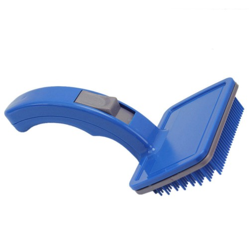 Pet Comb Clean Shedding Tool Hair Fine Trimmer Attachment Brush Cat Self Cleaning Grooming Hair