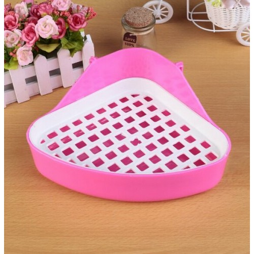 Pets Toilets Animals Toilet For Small Pets Rabbit Hamster Easy To Clean Cage