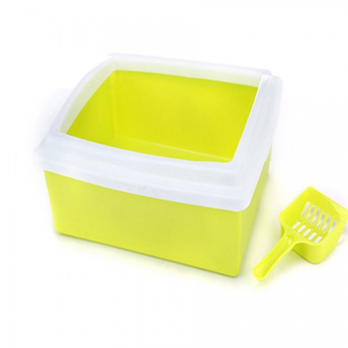 Products Large Cat Litter Toilet Box Tray Shovel Plastic Cat House Basins Sand Scoop Hamster