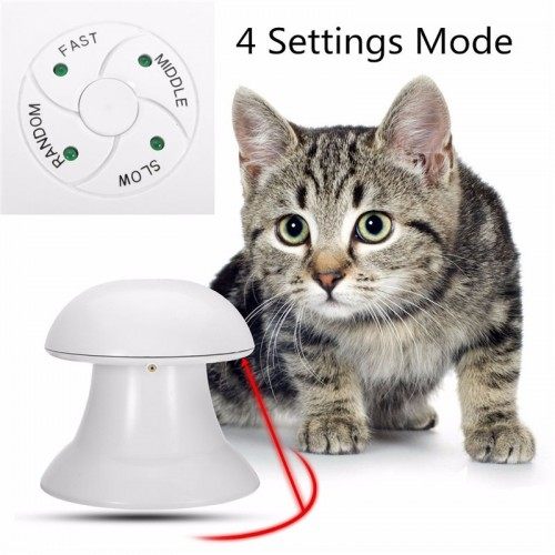 Automatic Interactive Dart Laser Light Exercise Teaser Fun Exercise Pet Puppy Toy