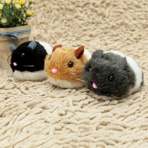 Creative Cat Toy Mouse Pulling Chain Shock Shake Interactive Pet Cat Toys Rat Artificial