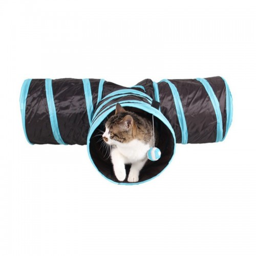 Foldable Pet Puppy Animal Cat Kitten Play Toy Exercise Tunnel Cave Cat