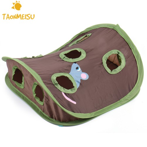 Multifunction Pet Cat Toys Pet Kitten Interactive Play Toys With Bells Mouse folding Toys Small Pets