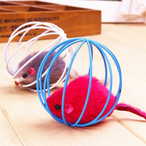Pet Supplies Rat In A Cage To Make Pet Toy Cat Favorite Toy