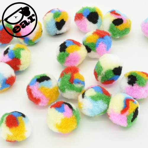 Soft Cat Toy Balls Kitten Toys Pompon Ball Assorted