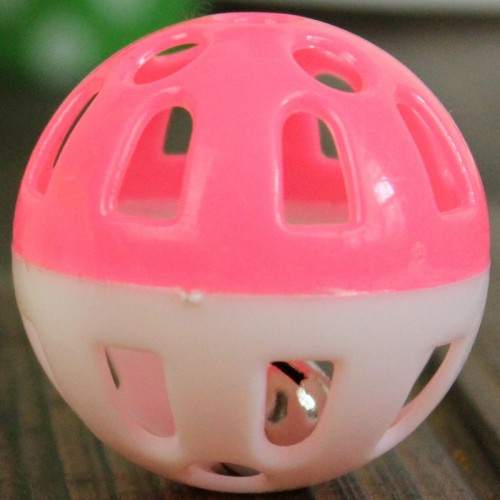 Tinkle Bell Ball Pet Toy Plastic Cat Playing Ball Pet Products