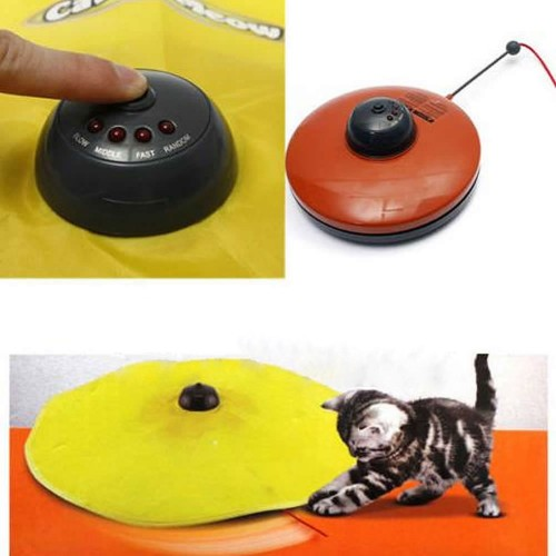 Undercover Fabric Moving Mouse Cat Toy Meow Play For Cat Kitty Funny As Seen On