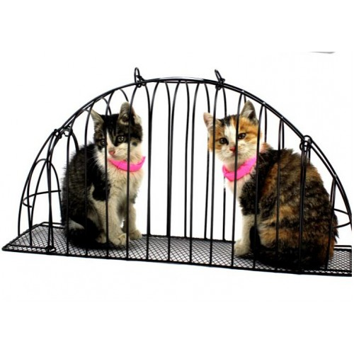 Free Shipping Cat Bath Cage Double Door Carrier Injections Anti Grasping Bite Cage Carried Cage Easy