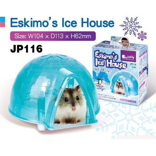 Hamster s Ice House Hamster Small House Cool Mouse House Hamster Cage Pet Cage Rabbit House