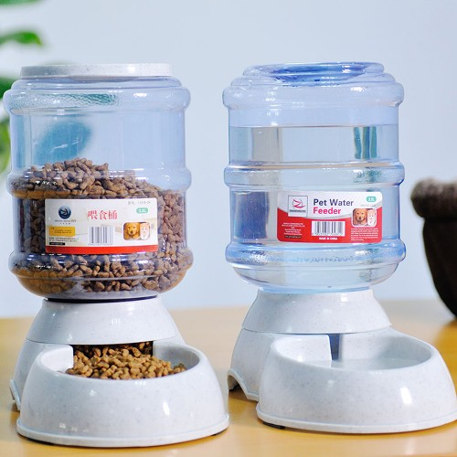 Pet drinkers cat automatic feeder drinking animal pet bowl water bowl