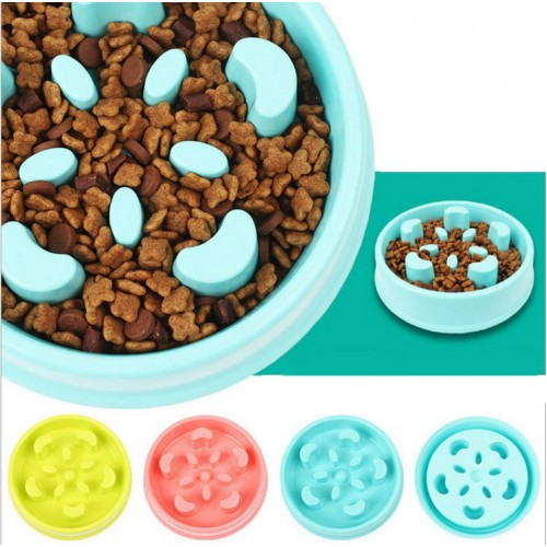 Pet Fun Feeder Dog Food Slow Bowl Puppy Anti Choke Bowl Pet Food