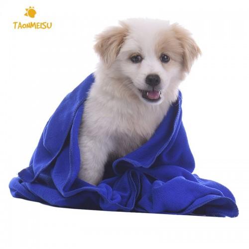 Pet Dog Take a Shower Towel Absorbent Towel Bao Tactic BathTowel Microfiber Pet Towel
