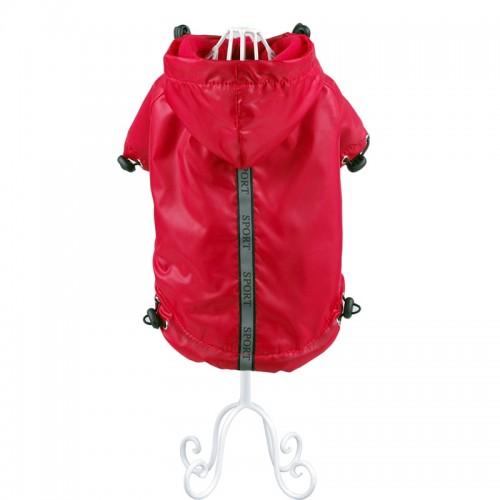 Pet Products Dog Raincoat Teddy Clothing Spring Autumn Warm Fleecing Raincoat Clothes