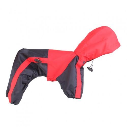 Tiny Small Dog Raincoat Dogs Waterproof Clothes Glisten Hoody Rain Slicker Jacket