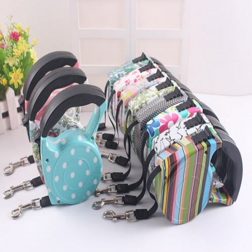 Automatic Retractable Leash For Dogs Harness Puppy Patrol Rope