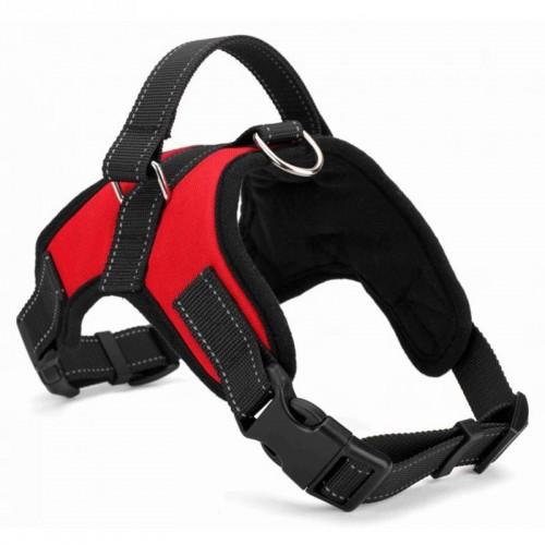 Big Dog Soft Adjustable Harness Pet Large Dog Walk Out Harness Vest Collar Hand Strap
