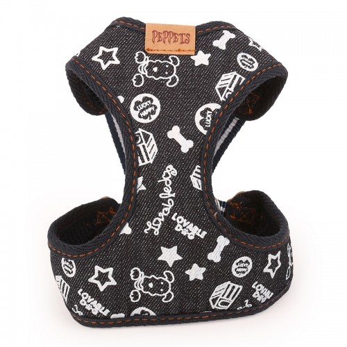 Brand Pet Adjustable Harness Leash For Dog Puppy Jeans Pet