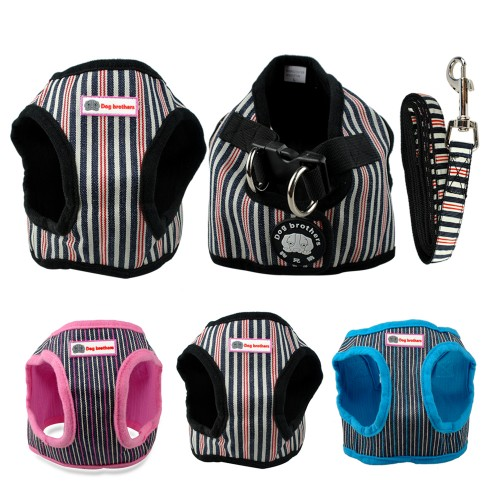 Soft Puppy Small Dog Harness and Walking Leash