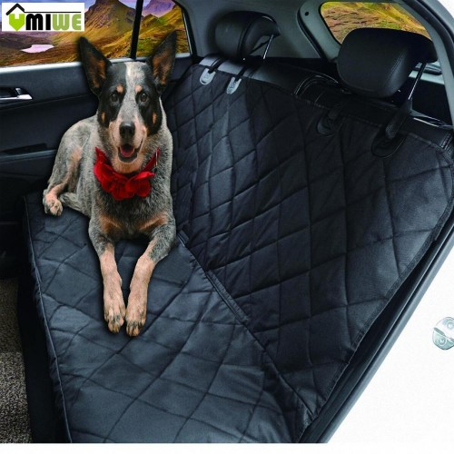 Umiwe Dog Car Seat Covers Waterproof Full Backseat Pets Protector Non Slip Liner For Vehicles