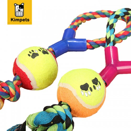 Best Chewing Toys for Dogs Ball with Rope Dog Toy