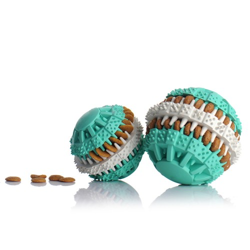 Cat Dog Toy Drain Food Ball Pet Toys Puzzle Resistant Size