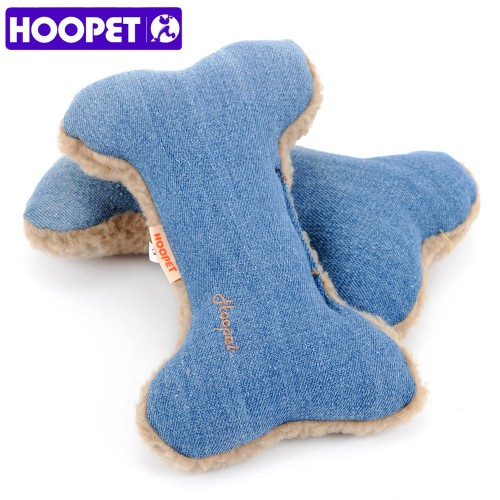 Cowboy Bones Sound Dogs Interactive Security Lambswool Blue Squeak