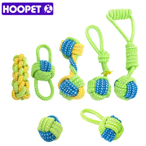 Dog Toy Dog Chews Cotton Rope Knot Ball Grinding Teeth odontoprisis Pet Toys Large small