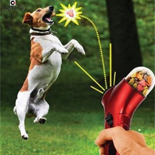 Food Treat Launcher Interactive Pet toys Fun watch dogs hunting