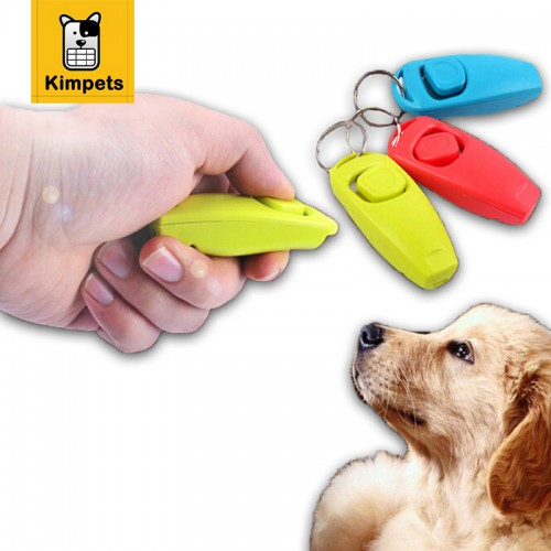 Hot Sale Pet Dog Suppliers Intelligence Toys Pet Clicker Training Trainer Aid whistle