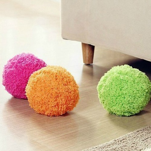 Innovative Home Rolling Vacuum Cleaner Ball Pocket Size Automatic Microfiber Floor Cleaner Pet Dogs