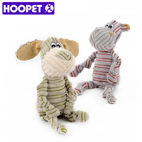Little donkey and pony stripe striped toy vocal Strong resistance to bite Puzzle