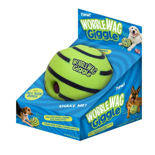 Lovely Wobble Wag Giggle Ball Dog Play Ball with Funny Sound Keeps Dogs Happy