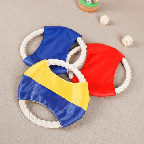 Oxford cloth cotton rope combination dog play frisbee throwing toys toys