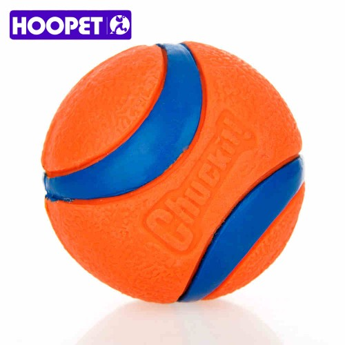 Pet Dog Rubber Pinball Ball Packing Orange Rubber Resistance To Bite Molars