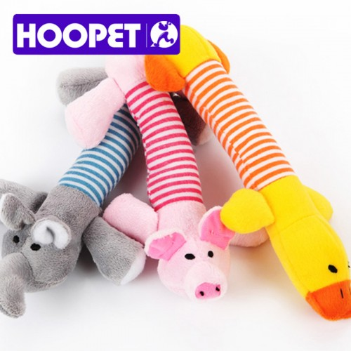Pet Dog Toy Soft Short Floss Cute Toy Trainning Sounded Toy