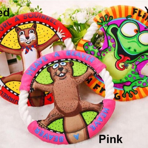 Popular Pet Toys Fat Cats Cartoon Frisbee Molar Tooth Cleaning Dog Toys Cat Toys Pet Supplies