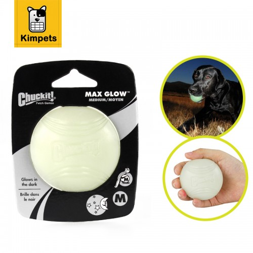 Soft Rubber Pet Glow Dog Ball Toys Night Safety LED Flashing Glow LED Pet Supplies