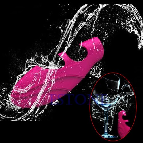 Woman G SPOT Massager Wonderful Waterproof Finger Vibrating Pleasure Toys
