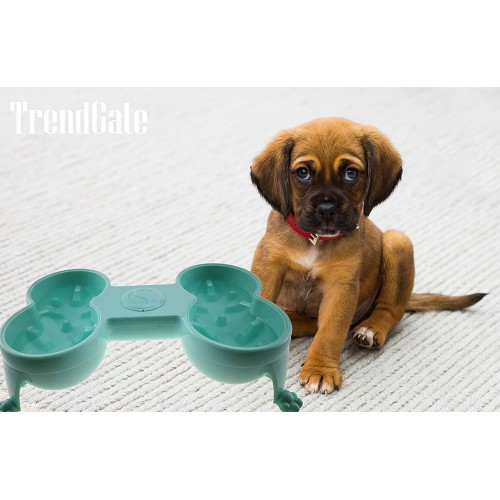 TrendGate Anti-slip Pet Feeder Dog/Cat Bowl For Labrador/Toypoodle/Teddy/Yorkshire Terrier And More
