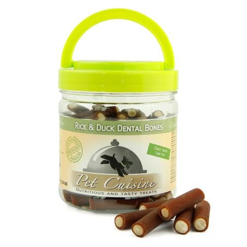 Pet Cuisine Health Teeth Cleaning Molar Rod Dog Treats Training Snacks Puppy Chewy Rice Duck Dental