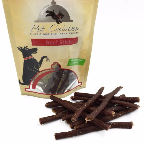 Pet Dog Natural Snacks Healthy Dogs Food Puppy Chews Beef Jerky Sticks 100g
