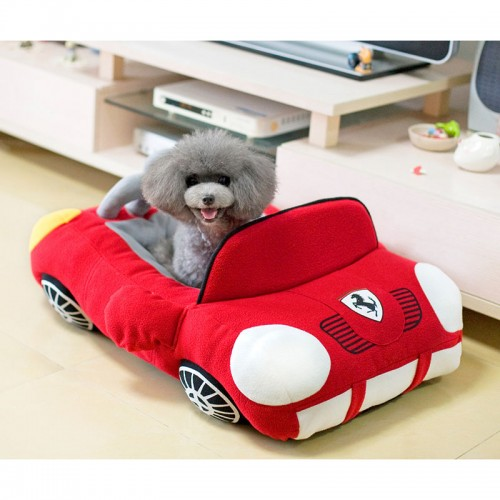 Cool Sports Car Shaped Pet Dog Bed House Small Dog House Waterproof Warm