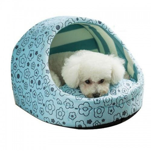 Cute dog bed for small dogs Cat Bed House princess Pet Sleeping Bag warm soft Teddyn