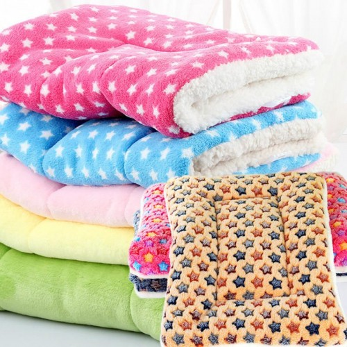 Dog Cat Bed Soft Warm Sleep Mat Dog Cat Rest Blanket Breathable Pet Cushion